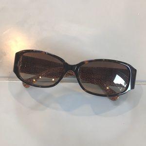 Coach Tortoise Sunglasses plus black case